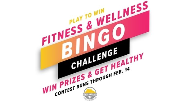 Fitness & Wellness Bingo graphic