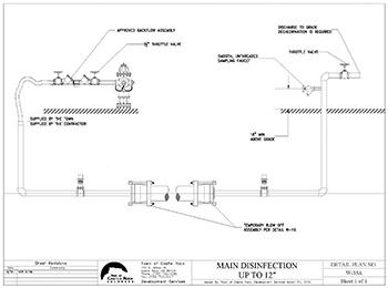 Construction Methodology Drawing showing equipment required by the contractor