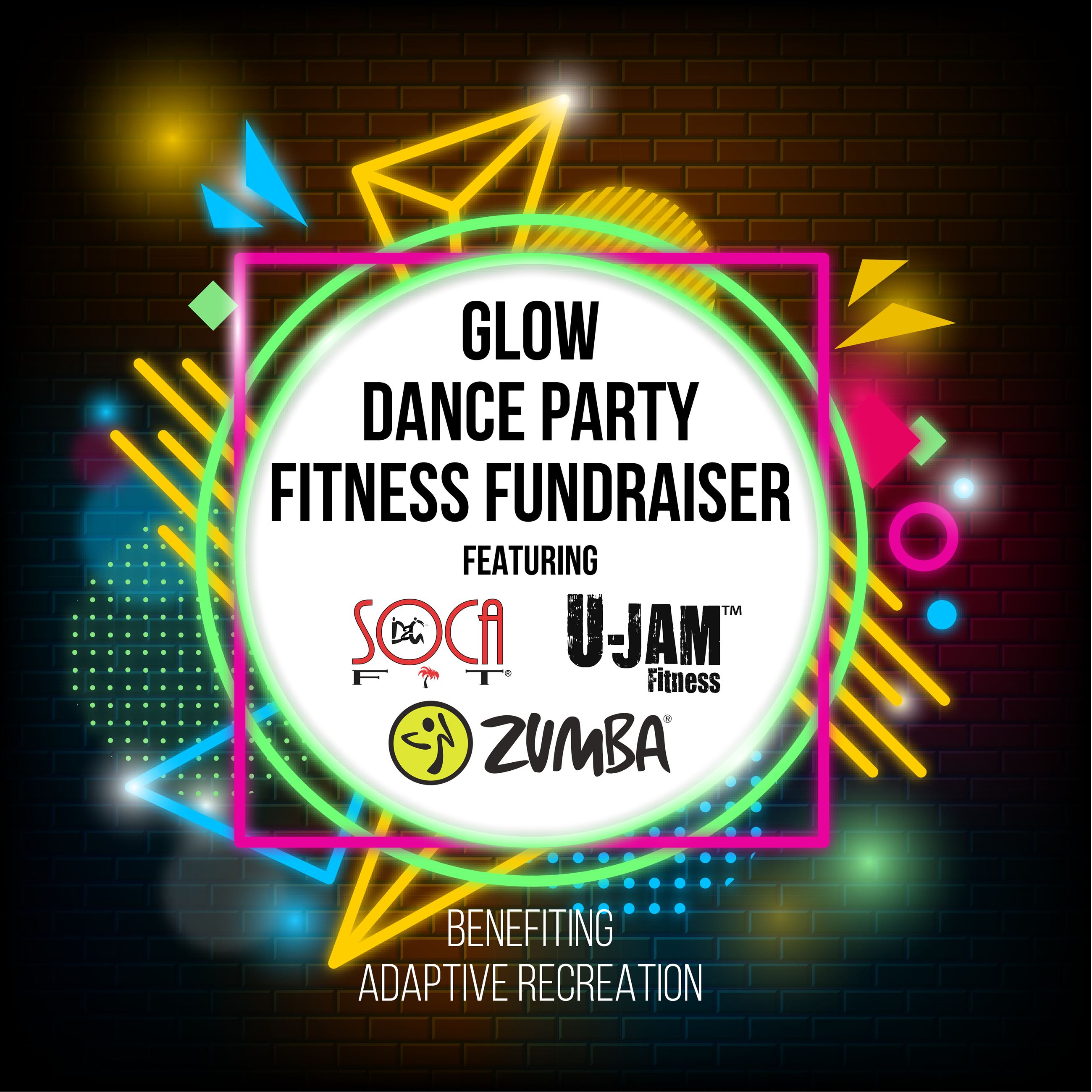 Glow Dance Party Fitness Fundraiser_Digital SMG