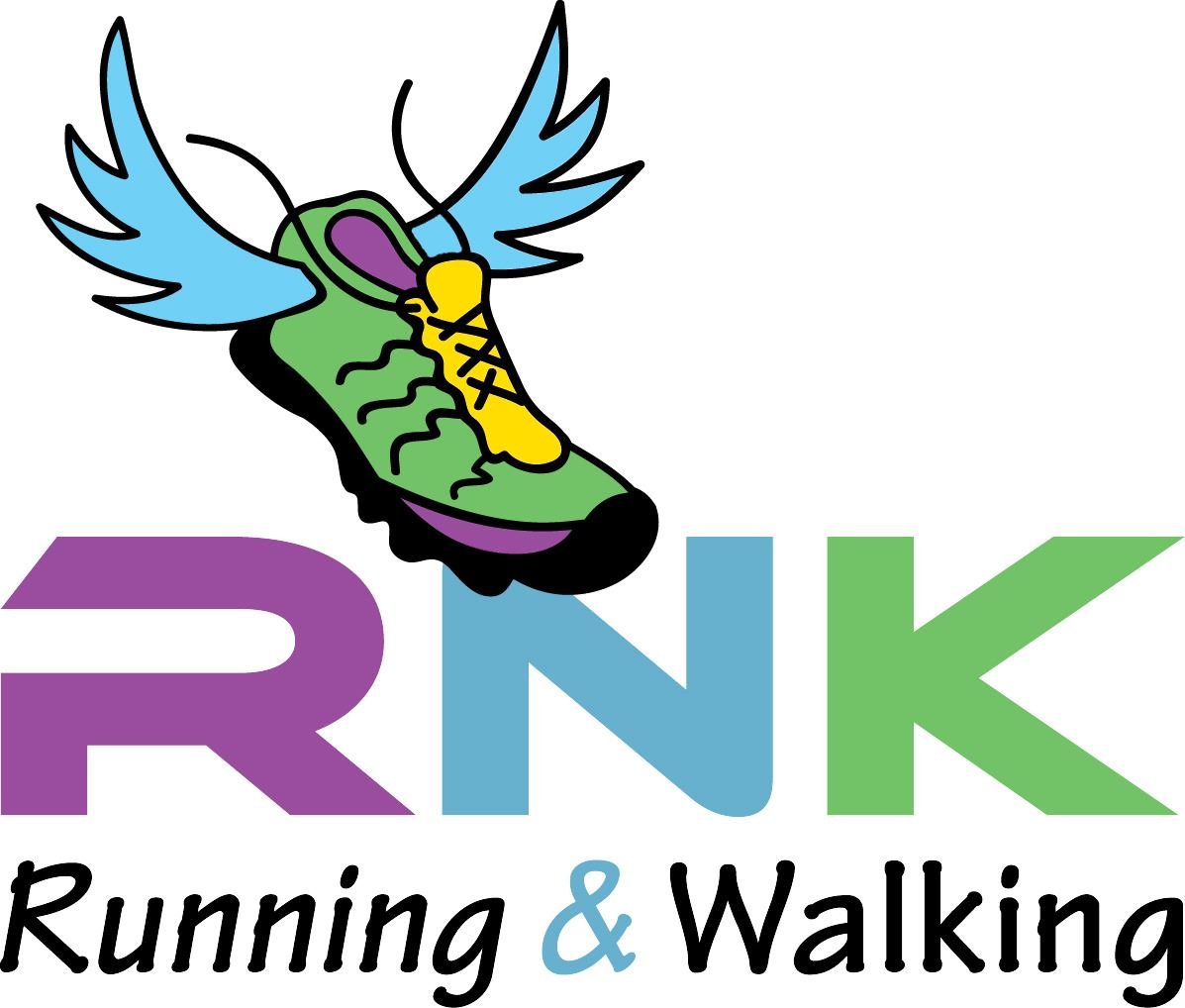 Running & Walking Logo sponsor of Climb4Change