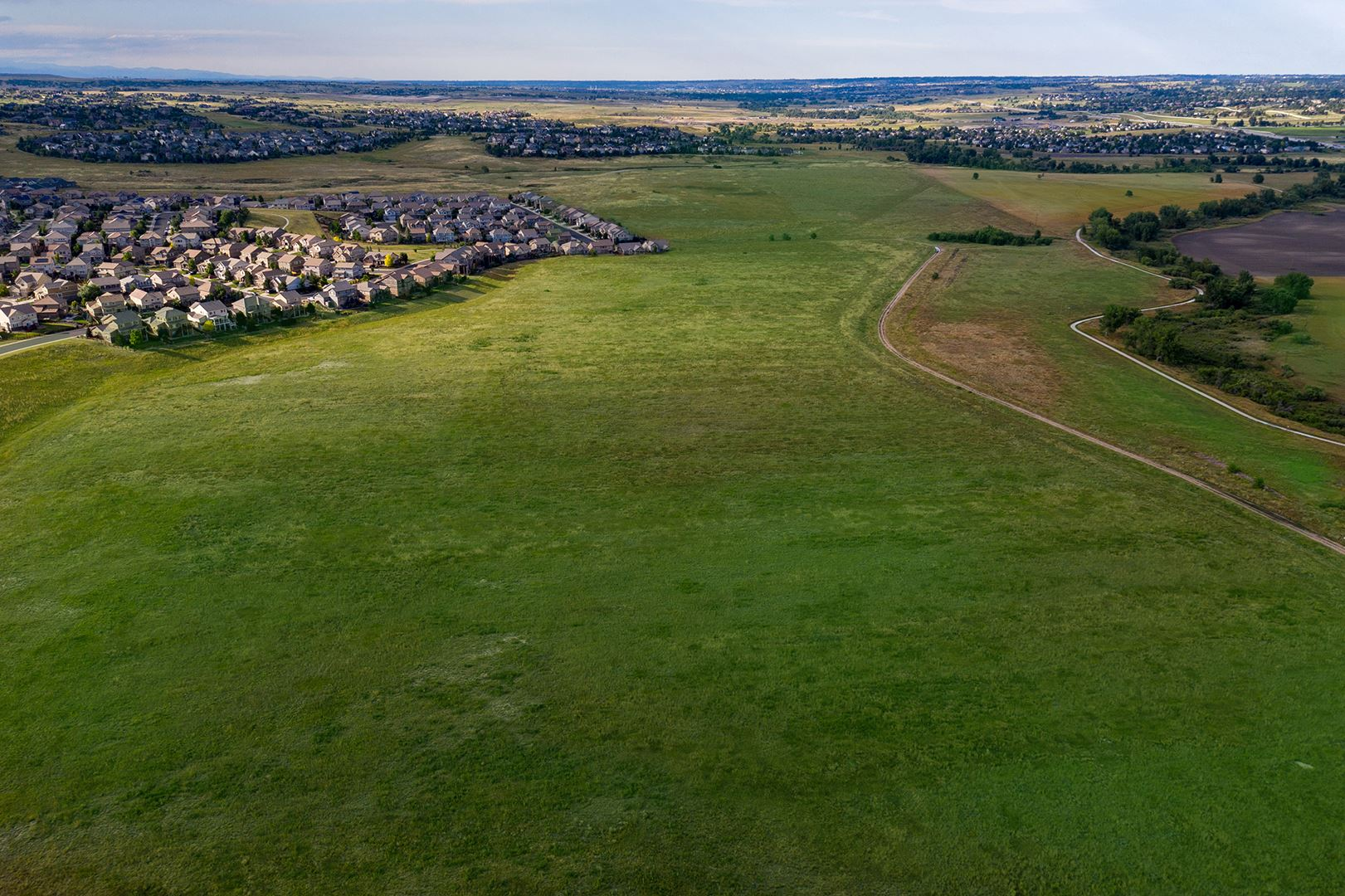 cobblestone ranch drone photo