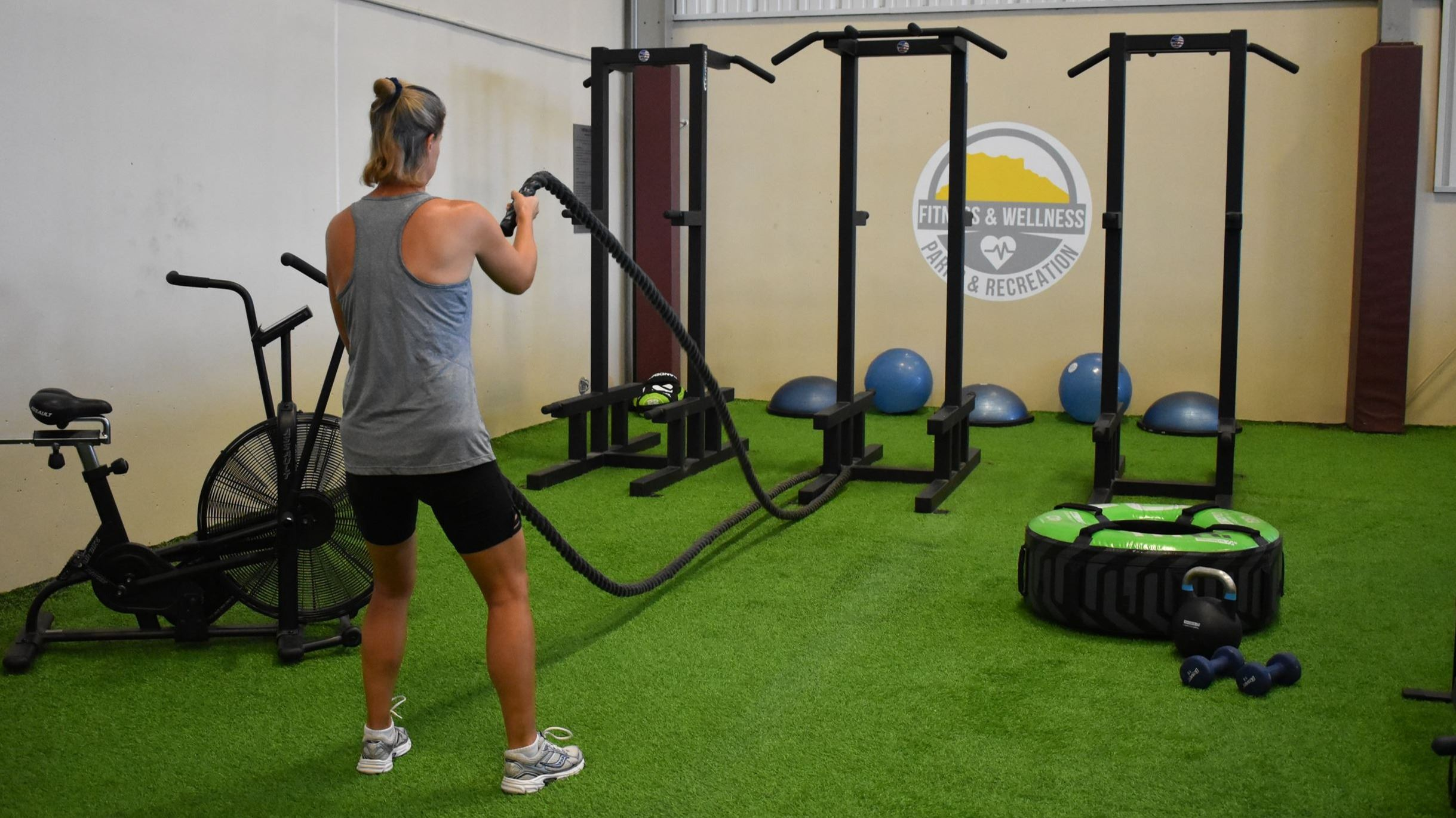 MAC functional fitness area