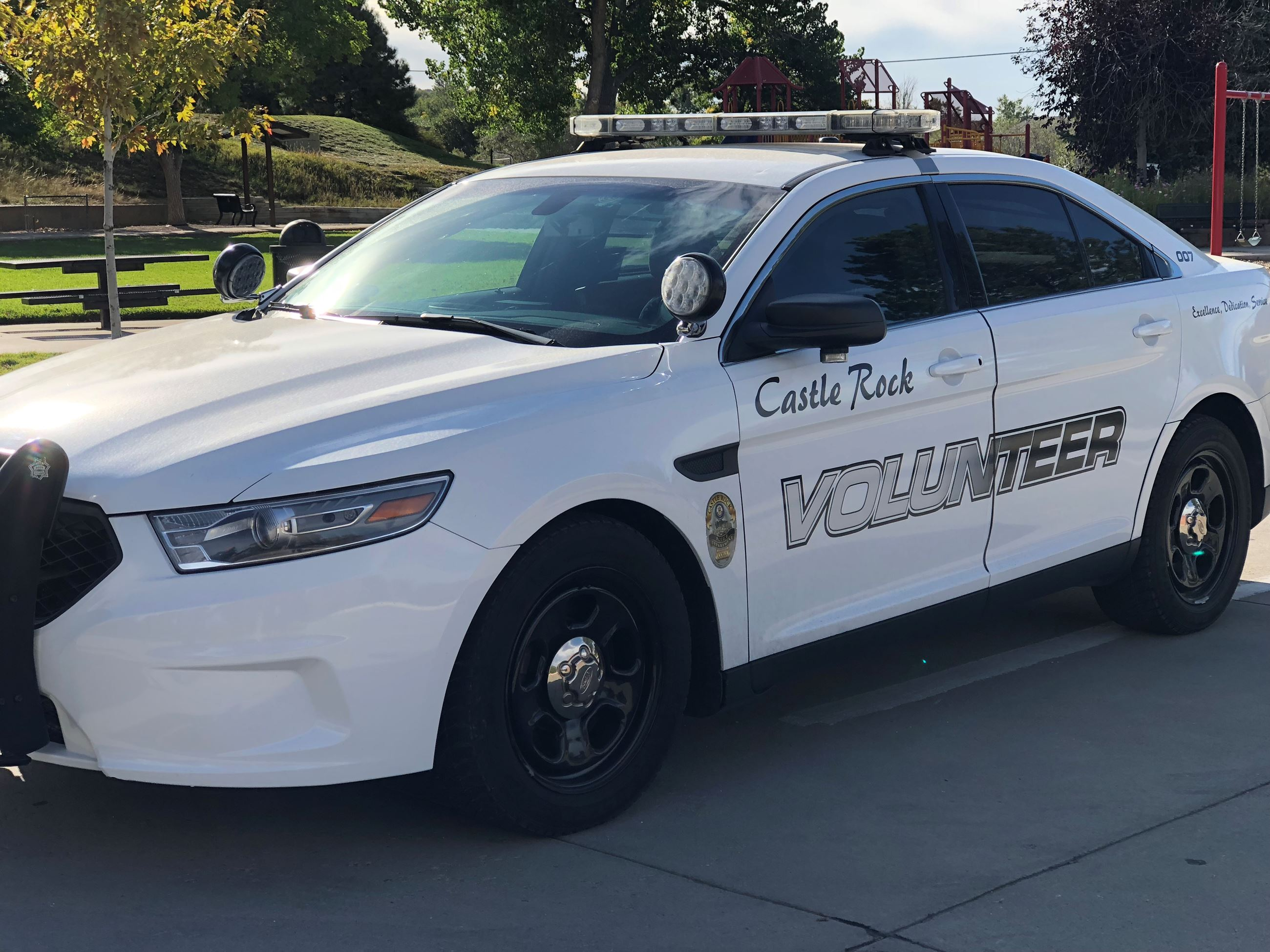 Community Safety Volunteer vehicle