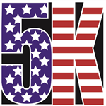 Patriot Run 5K logo