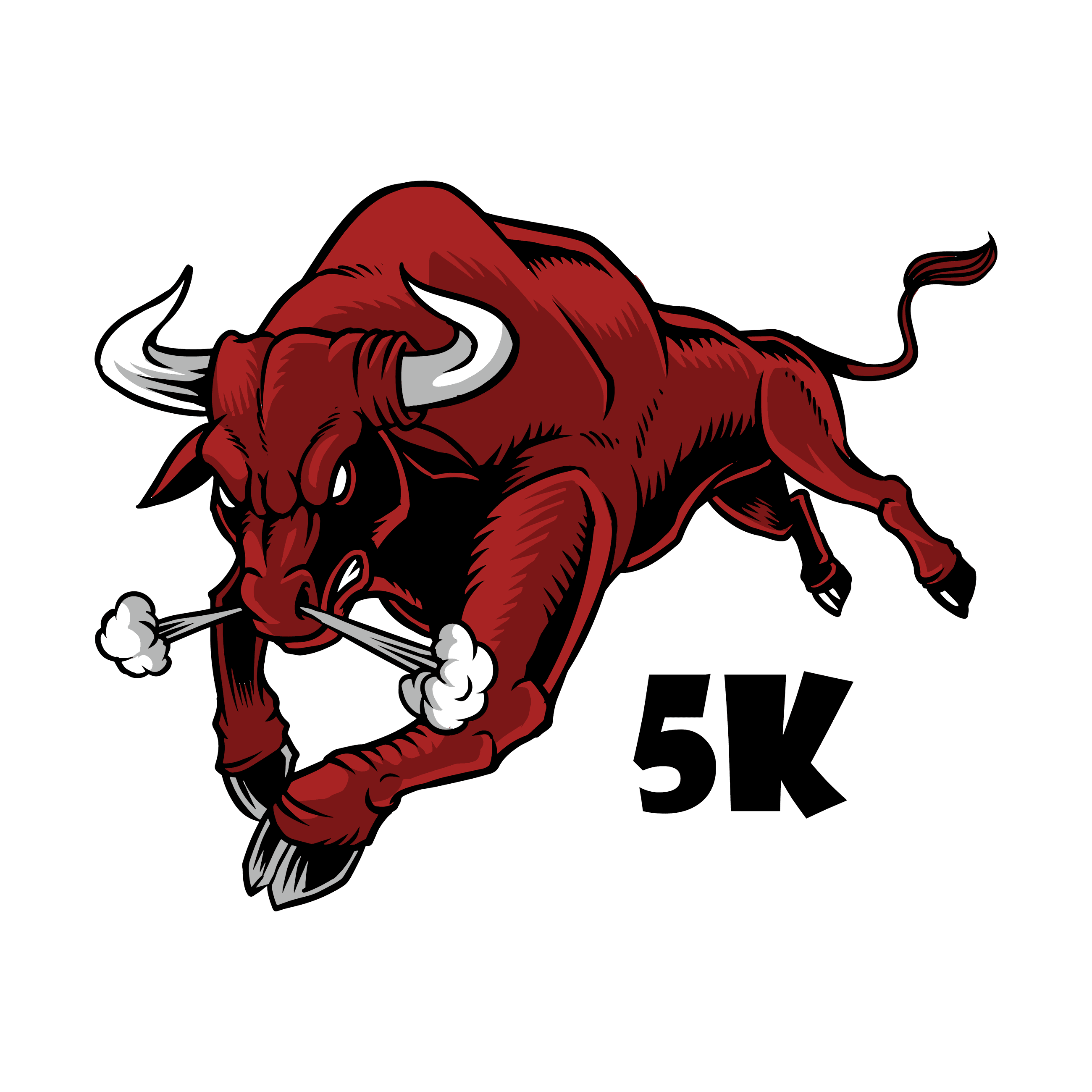 Running of the Bulls 5K logo