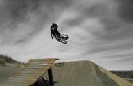 Bike Jumping Ramp at Rhyolite Bike Park