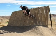 Bike at Rhyolite Bike Park