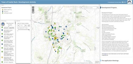 Development Activity Map image