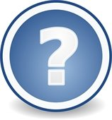 Question mark graphic image