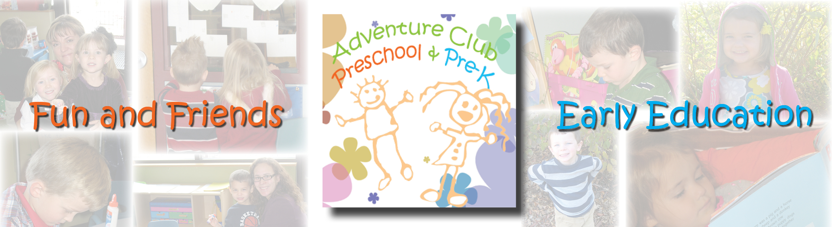 Fun and Friends and Early Education logo