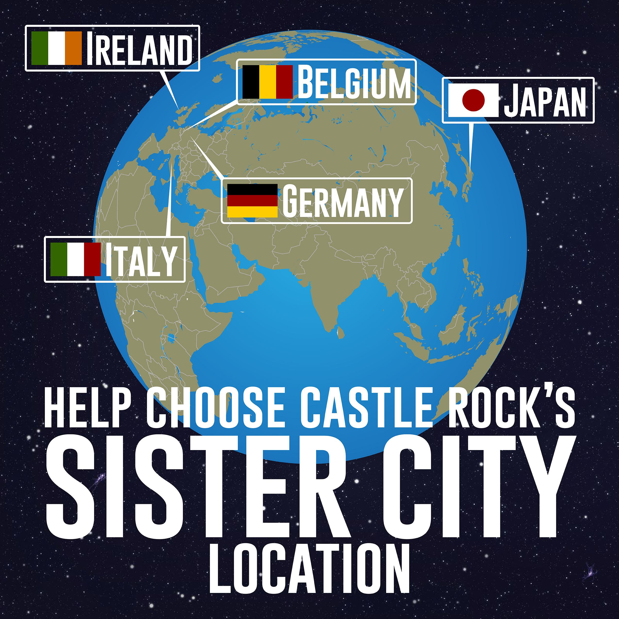 Help choose Castle Rock's sister city location.