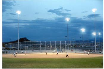 Metzler baseball under the lights